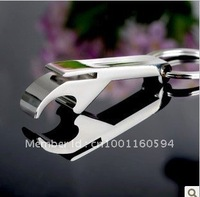 Free shipping (40PCS/LOT )Wholesale Alloy saber-toothed Tiger Bottle Opener Keychain Christmas gift  Key Chain Ring