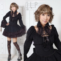 Glp shirt collar gorgeous lace lolita one-piece dress 81034