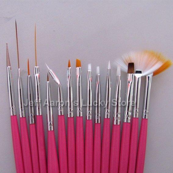 Nail paint brush kit