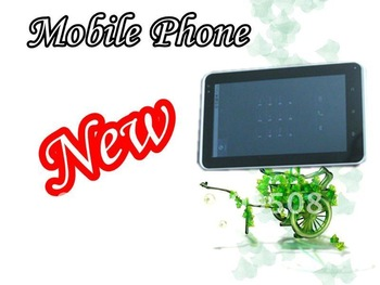 "Factory Promotional Qualcomm 7"" Capacitive 3G phone tablet pc, WIFI+Bluetooth+GPS+GSM+2Cameras"