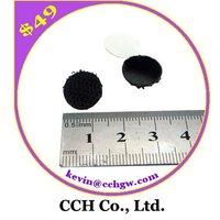 """1/2"""" 13mm Black Adhesive Hook and loop Velcro Dot"""