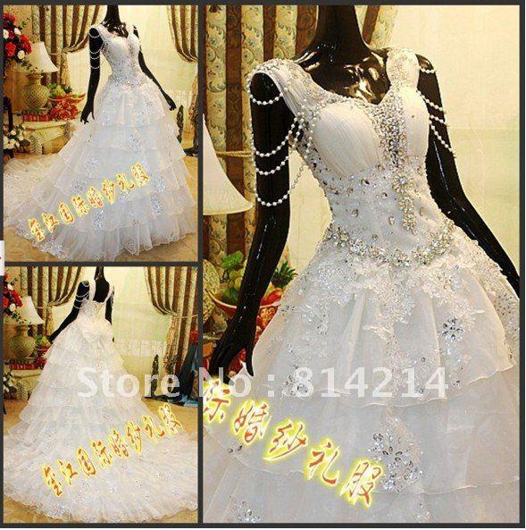 Корейский ремни свадебное платье