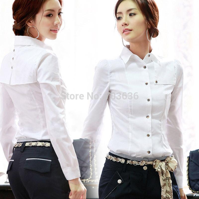 Белая Блузка Для Офиса