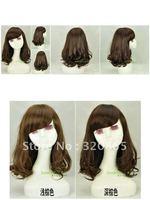 Moss is inclined bang female wig pear flower head girl wig tao girl ZhouXin yao deductive wig girl