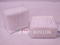 wholesale/retail,Double slider health cotton swab facial cotton pad double slider swab 160,free shipping