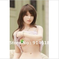 2012new fashion Inflatable Sex dolls/toys For Men Realistic Face Silicone Semi-solid Type
