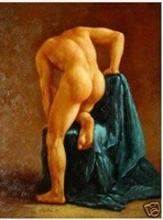 Charming Art oil painting Repro : MAN Gay Male Art 24x36 inch 100% Free shipping