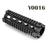 Freeshipping EMS Tactical Handguard Picatinny Extend Quad Rail Weaver Y0016 (17cm 330g)