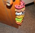 20Pcs/Lot Child kids Baby Animal Cartoon Jammers Stop Door stopper holder lock Safety Guard Finger Protect