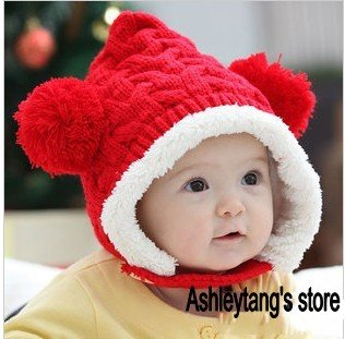Hot sales, Free shipping, children hat 100% wool bird cap children chrismas hat, very nice ,cap Warm winter Gift(China (Mainland))