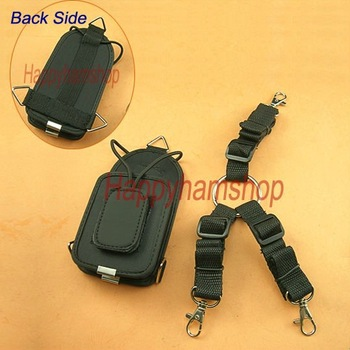 Bigger size Nylon Pouch case Holder for Motorola Yaesu Icom two way radio/walkie talkie