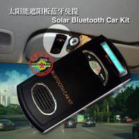 Sun-shading board car bluetooth car bluetooth phone speaker built-in lithium battery