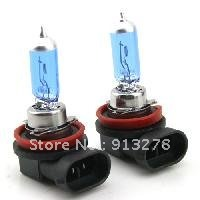 Free Shipping  New H11 Super Bright Xenon Halogen Bulb White 12V 55W