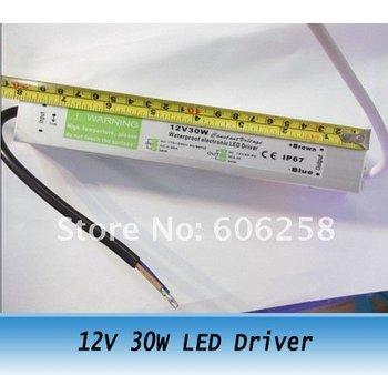 input 220V - 240V / out put 12V 30W waterproof led driver power supply