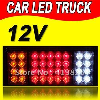12V 2X LEDCar trailer Light UTE stop/reverse /indicator for truck wagon caravan