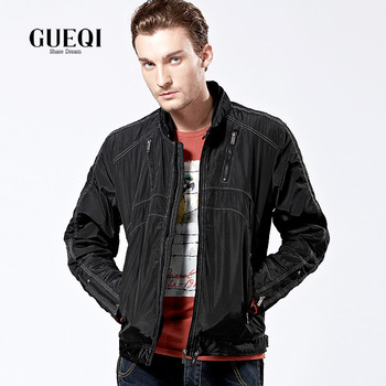 Gueqi men's clothing spring and autumn urban casual garment jacket outerwear sl719