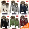 Free Shipping 2012 Winter Brand New Men&Women's Fur Collar Sweater Hoodies Coat Leisure Sports Suit Thickening Outwear FHZM01