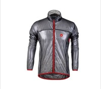 Hot sale Grey&black Castelli cycling raincoat  /riding raincoat of transparent dust coat waterproof &rainproof&Prevent bask in