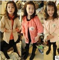 girl's coat baby outerwear girls jacket kids wear children clothing girl's clothing fur coat 3 colors