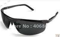 free shipping   Man's/Woman's sunglasses  Sunglasses function: prevent UVA anti UVB polarization 3 color Gray Black DARK brown