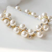 Accessories korean style pearl bracelet wedding jewelry