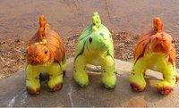 Free shipping !30cm 3 color Stegosaurus Dinosaur  plush toys dolls stuffed animals  creative birthday gift car home decor