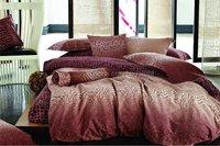 reactive sanding 4pc King/Full/Queen comforter/duvet covers bedding sets Noble Brown Mordern Geometric mordern pattern