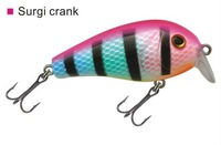 lot of 3 pcs surgi crank 50,weight 8.5gm,length:5cm crank fishing lure