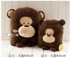Plaything series orangutan plush toy small doll cushion pillow(China (Mainland))