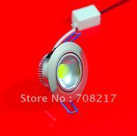 Wholesale!!! DHL Free Shipping AC 85V-265V 10W  COB led down light led ceiling light