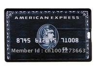 NEW 4GB/8GB/16GB/32GB Credit Card Shaped USB Flash Drive 2.0 Memory Stick