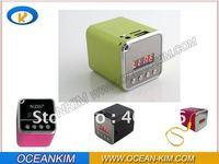 NIZHI TT-106 TT106 Portable Mini Speaker With Digital Screen + FM Radio