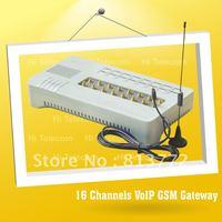 Sales promotion of 16 SIM channel GSM gateway-GoIP16