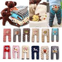 Free shipping+Wholesale Toddler Boy Girl Long soft Pants 100% cotton Busha Baby Leggings,18pcs/lot