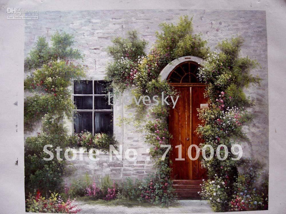 & Oil Painting Ideas: Oil Paintings Of Doors