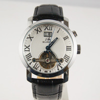 Gift Chinese NO.1 shanghai Mechanical hand wind watch fully-automatic Men Wristwatch