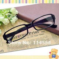Unisex Black DJ Clear Lens Nerd Skater Polite Frame Glasses Eyeglasses 692