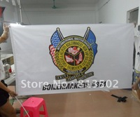 3x5ft custom printing polyester flag banners