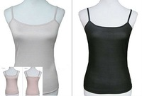 Sexy Ladies Knitted Silk Camisole  Tank Top 2014 New Sheer Tops for WomenS M L XL 2XL Solid Black Pink Nude