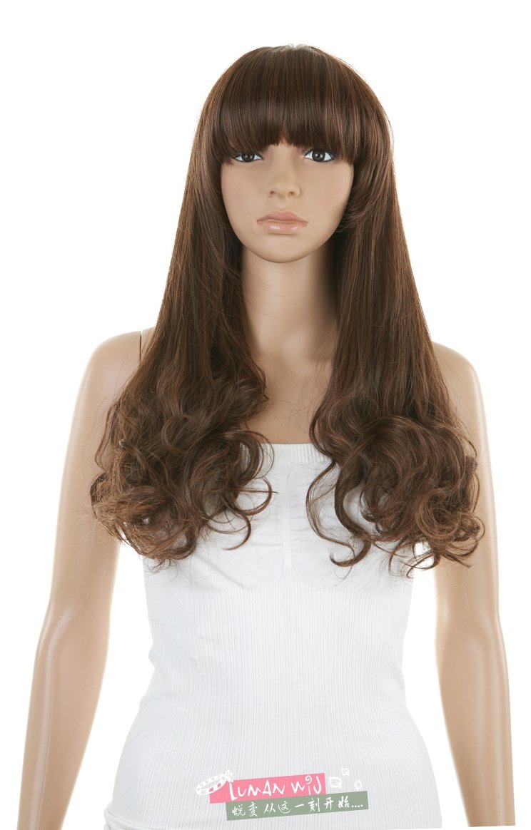 New Women's Sexy Fashion POP Wig Long Curly Wigs Party Wigs Free ...
