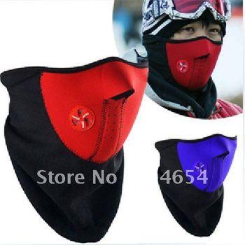 20PCS/Lot,,,outdoor riding sports masks Ski Snowboard Motorcycle Bicycle Skating Anti-pollution Half Face Mask