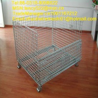 search buyers of galvanized folding wire mesh pallet