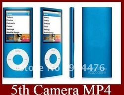 Newest 32GB 5th Generation 2.2 inch hd MP4 Player with Camera 1.3 mp mp4 digital player+Free gift(China (Mainland))
