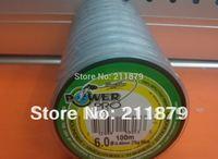 freen shipping wholesale PE braided fishing line dyneema gray 100m/10pcs 10Lb 20Lb 30Lb 40Lb 50Lb 60Lb 80Lb 100Lb