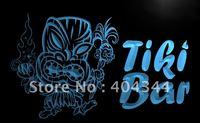 LB299- Newest Tiki Bar Pub Mask Beer NR Neon Light Sign    hang sign home decor shop crafts led sign