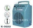 Professional Wireless PA System K-968U with MP3, USB, SD, FM