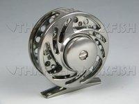 Top Grade! 1X FL06 Dia:70mm Huihuang Die casting Reels Aluminum Fishing Reels Fly Reel