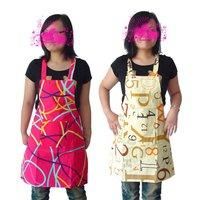 5 pcs Free shipping Fashion cotton thicken canvas aprons kitchen aprons