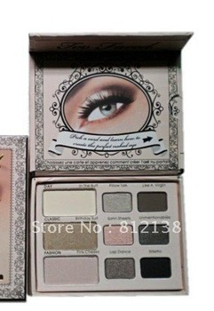 Wholesale NEW ARRIVAL 100% guaranteed naked make up eye shadow palette  6pcs/lot Free shipping