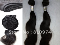 Free Shipping virgin hair extensions & brazilian hair ,more wave 12''-30''